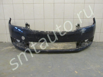 Бампер передний для Skoda Rapid 2013-2020, OEM 60U807221 (фото)