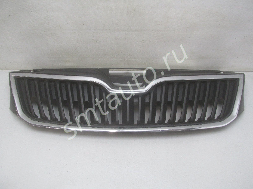 Решетка радиатора для Skoda Rapid 2013-2020, OEM 5JA853668 (фото)