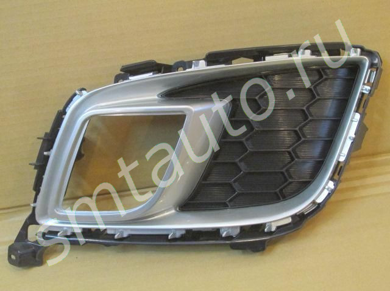 Решетка в бампер левая для Mazda 6 (GH) 2007-2012 (фото)